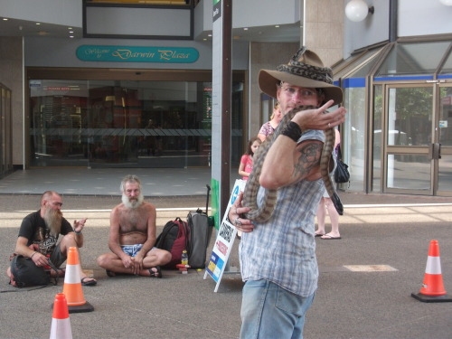 A different show along Smith Street in Darwin City
