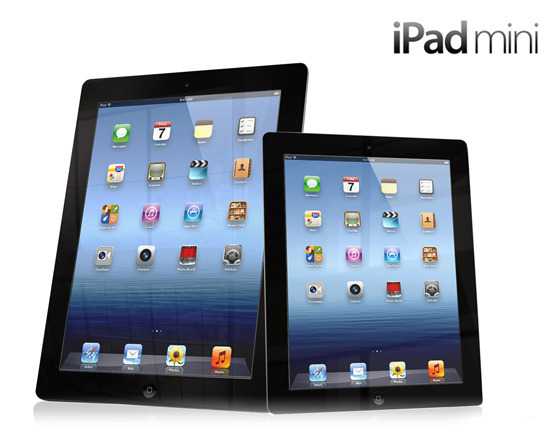 Apple iPad Mini Mockup by Gizmodo