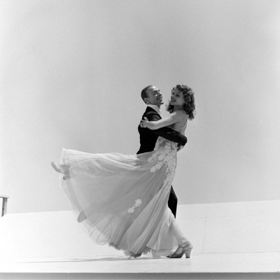 Rita Hayworth & Fred Astaire photographed for You Were Never Lovelier, 1942.