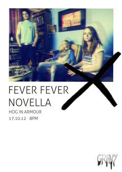 Last ever Fever show tonight, so come down and wave good bye to an awesome era of noise. You have no excuses. Its at the HOG IN ARMOUR - NOT TAKE 5.