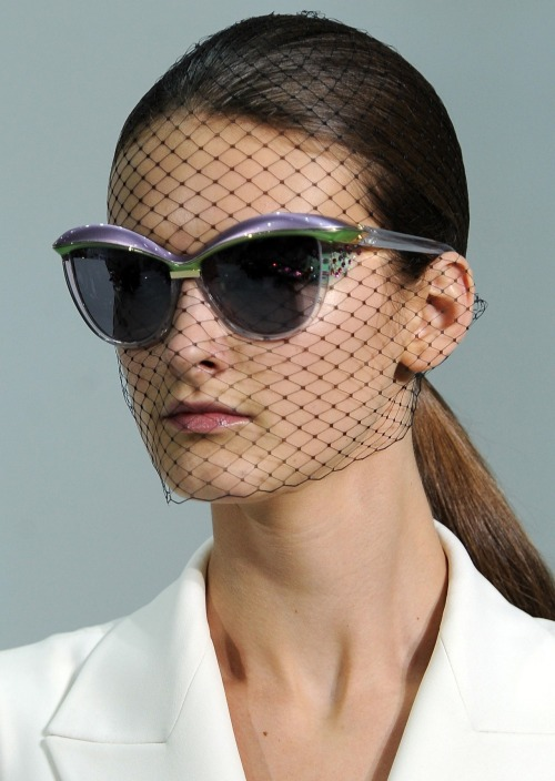Great eyewear shot from Dior's SS13 collection. #pfw