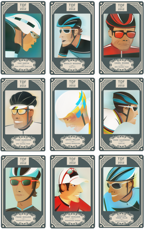 cyclingisart:  Collect all the cards