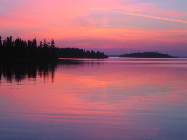 Snow Lake, Manitoba Shot: September 29, 2012.