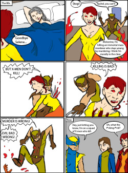 betterthanlegos:  Wolverine: The Murder Thingie by magickmaker