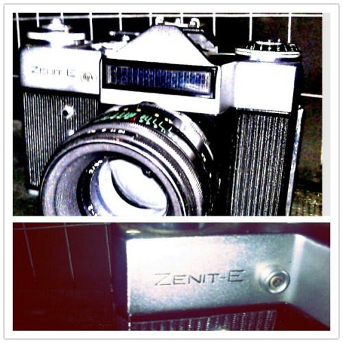 #zenitE #30dollar #russiancamera #35mm wuhuu~ (Taken with Instagram)