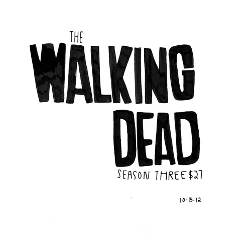 Daily Purchase Drawing for 10.15.12  Season Three of The Walking Dead. No idea why this season is $27 bucks, however. Does this mean more episodes? *fingers crossed*