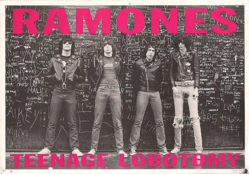 Ramones Teenage Lobotomy the Postcard