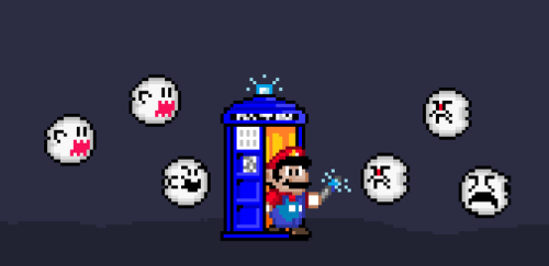Doctor Who? Mario! Created by 0Scion0