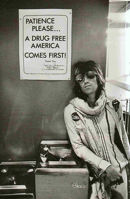 rocknrollhighskool:  A drug free Keith Richards of The Rolling Stones taken in Seattle in 1972