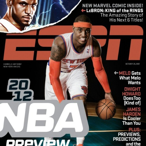 "New @ESPNMag on sale this week has a @Marvel comic, ""Lebron: #KingoftheRings"" by Christos Gage, ESPN's Ty Wenger, Mike Deodato, Terry Dodson, Greg Land, Scot Eaton & Adi Granov. SPORTS! (Taken with Instagram)"