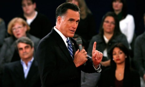 "Mitt Romney and President Obama went toe-to-toe on everything from Libya to taxes in Tuesday's debate, but it was Romney's comment about ""binders full of women"" that set the internet on fire. When asked about pay equity for women, Romney said that when he was governor of Massachusetts he went to women's groups for help finding qualified female recruits for cabinet posts, and they gave him ""binders full of women"" qualified for the jobs. (See the video here.)  Within seconds, the awkwardly phrased remark was everywhere online. There were ""binders full of women"" on Facebook and Tumblr. The domain names bindersfullofwomen.com (and .net) were snapped up, and Twitter was awash with #bindersfullofwomen quips. Romney caught up with Obama among women voters after the first debate, and the question offered him a chance to build even more momentum. Did he blow it? This sexist remark should scare women voters: Mitt was trying ""to prove he's all about equal rights and pay,"" says Maressa Brown at The Stir. Instead, his ""condescending and sexist"" insult about ""binders full of women"" shows how he ""really feels about women."" He opposes the Lilly Ledbetter Fair Pay Act and wants employers to be free to deny people contraceptive coverage. Thanks, Mitt, for reminding us your policies ""would be a horror show"" for women.   Overall, Romney likely won over some women: Romney's comment was awkwardly phrased, but it was part of a description of ""his effort to get more women in his cabinet,"" a potential boost for his recent gains among women, says John D. McKinnon at The Wall Street Journal. Romney also made the case for greater flexibility in the workplace and pointed out that 3.5 million women have fallen into poverty under Obama. If you look at everything Romney said in the battle for women voters, the GOP challenger actually did ""fairly well.""  Don't overlook the worst part of Romney's quip: Romney's ""binders full of women"" blunder was bizarre — but it's also ""not a true story,"" says David S. Bernstein at The Phoenix. Romney didn't ask for help recruiting qualified women. Women's groups were upset about a lack of women in government and put together the binders before he was elected, then gave them to him. Moreover, Romney was in business for 25 years but apparently ""didn't know any qualified women, or know where to find any qualified women. So what does that say?"""