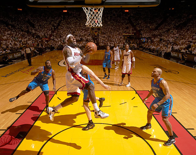 LeBron James drives to the hoop during Game 2 of the NBA Finals last June. LeBron would lead the Heat to the NBA championship a few days later. Will the Heat repeat? SI's Paul Forrester thinks the Heat will be even better this season. FORRESTER: Southeast Division Preview | Atlantic DivisionVIDEO PREVIEWS: Charlotte | Atlanta | Orlando | Washington