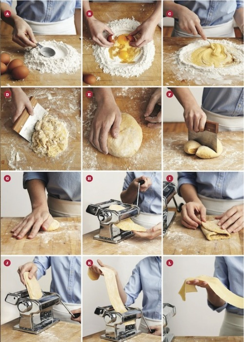 Making fresh pasta may seem hard, but once you see how easy it is to make silky, soft, homemade pasta you won't go back to the box. Using the fresh egg pasta dough, we'll show you how you can flavor, roll, shape and cut your own pasta. You'll be an instant expert!