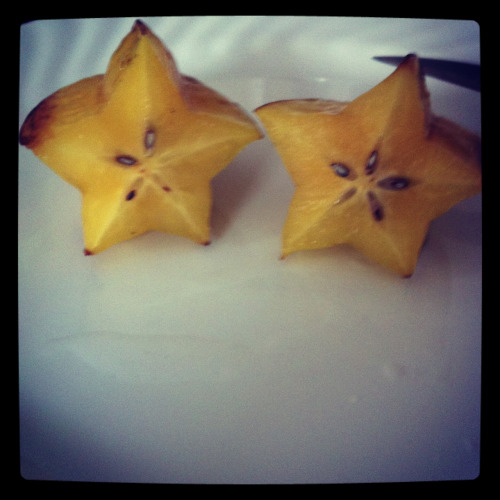 When you share a star fruit with someone their destinies become intertwined