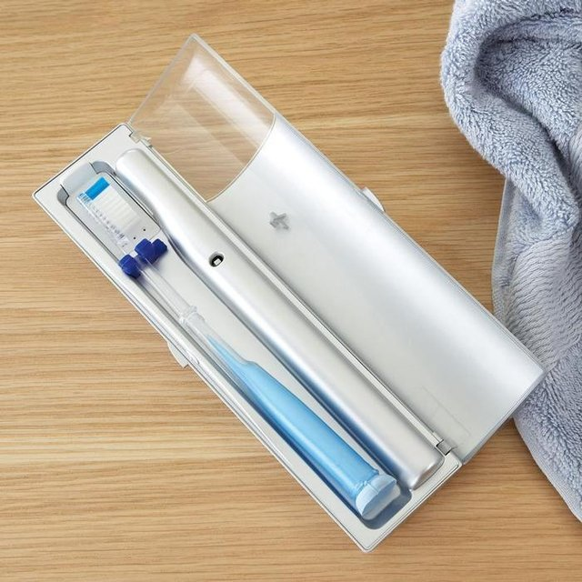 (via Travel Toothbrush Sanitizer)