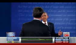 "Politics Obama to Mitt, ""Come at me bro!"""