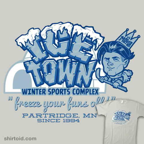 Ice Town available at Redbubble