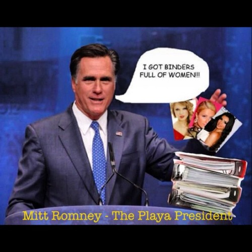 I'm not only a client…. I'm the Playa President. #Romney2012 (Taken with Instagram)