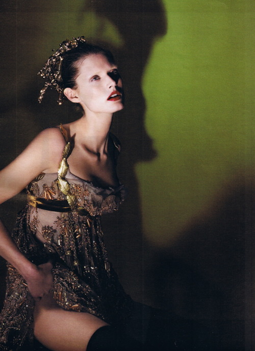 celines:  Malgosia Bela by Mert and Marcus for W Magazine September 2006