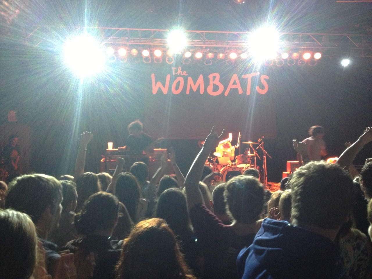 I saw The Wombats last night and they were perfect. Perfect.