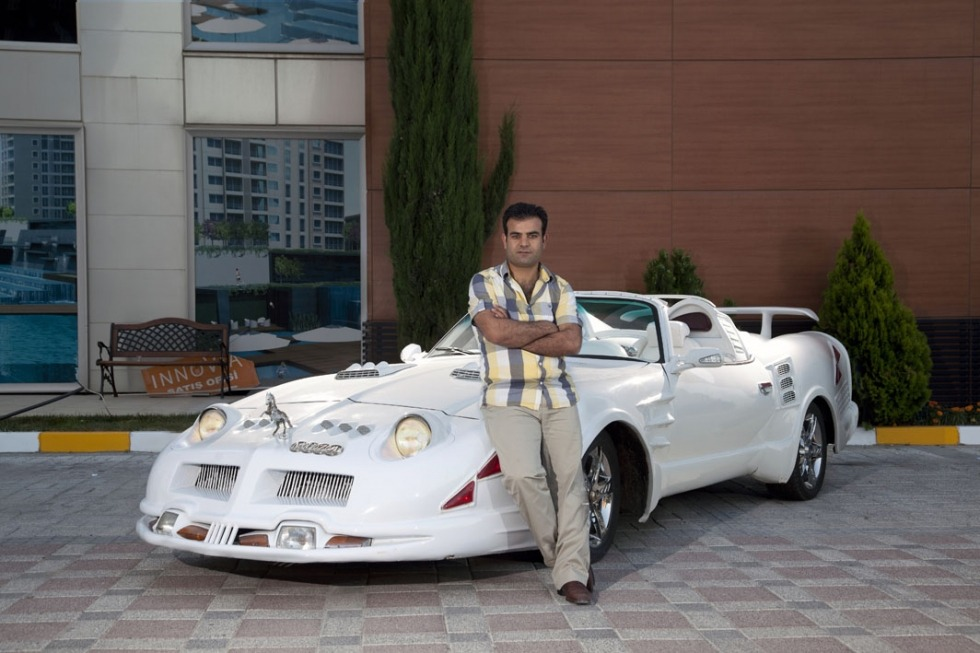 Korhan Karaoysal's portraits of men posed with their customized cars are an interesting look at Turkey's car culture. See more here.