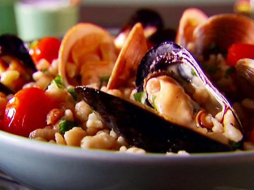 (via fregola with clams & mussels - North End Fish)
