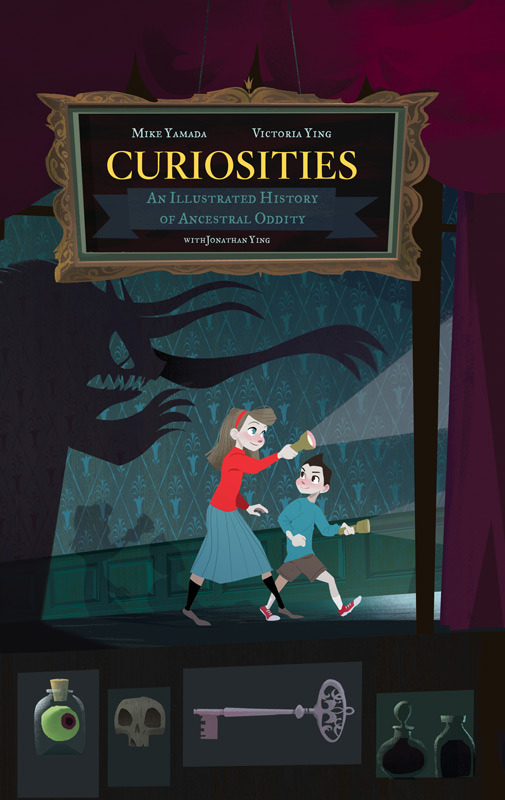 Updated cover for our Curiosities book! This is the version that went to print :D