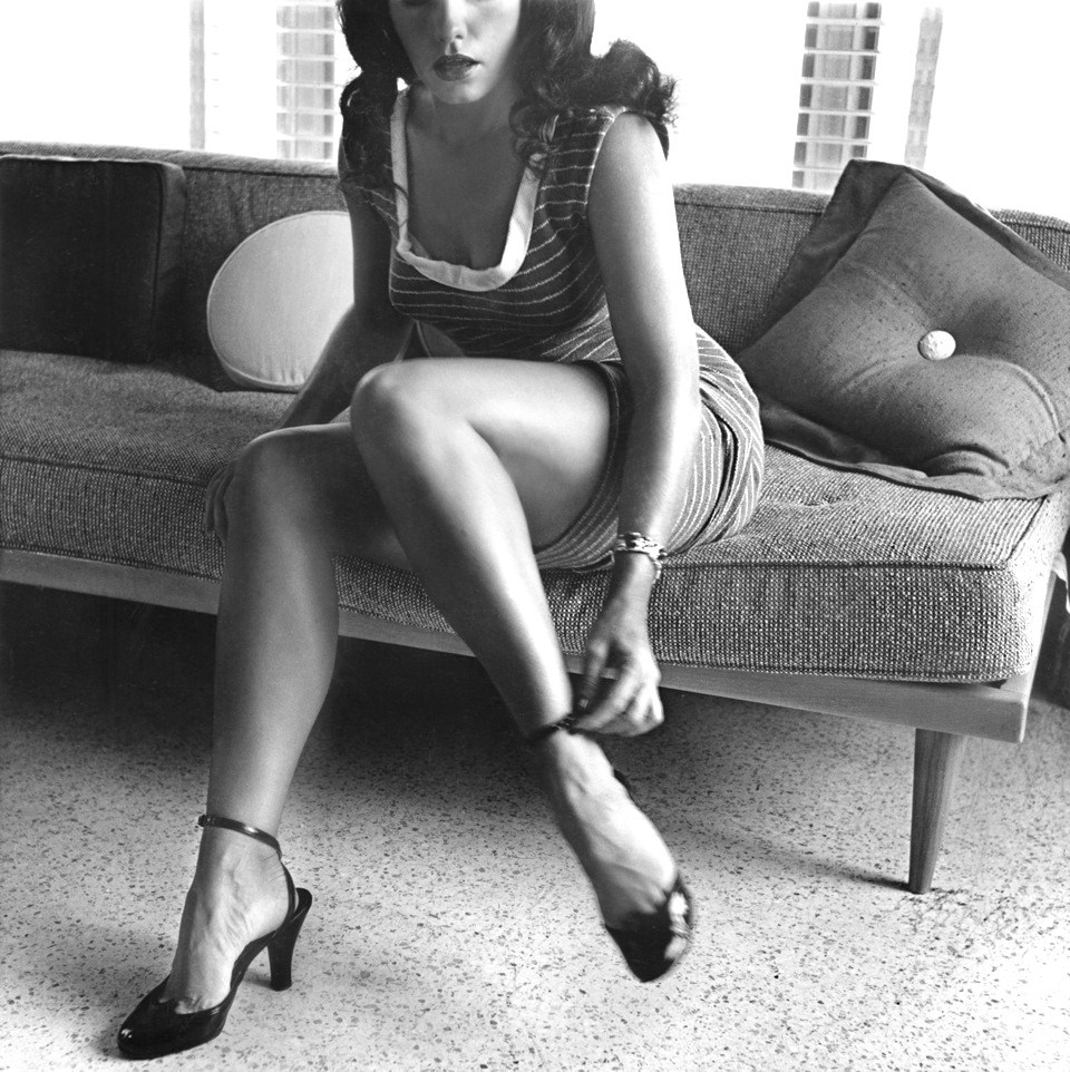 creepingirrelevance:  Bettie Page by Bunny Yeager