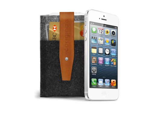 iPhone 5 wallet by MUUJO From Netherlands with ♥ Price: $39.99