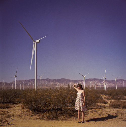 Goodbye, Mojave on Flickr by icatchfoxes (melissa olson) Self portrait, Mojave Desert, September 2012