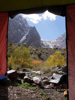viewfromthetent:  World outside my tent by imranthetrekker , new year new adventures on Flickr.