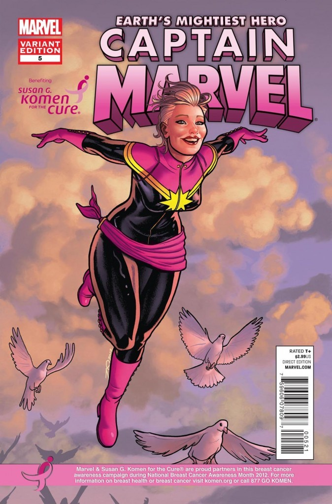 Captain Marvel #5 is out and my ask box is open. Tell me why you are reading this comic and you could win entry into my upcoming Captain Marvel Seventh Issue Contest.