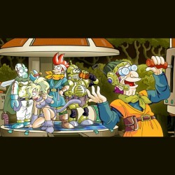 OMG!! Futurama x Chrono Trigger - the most epicest thing in nerdyness