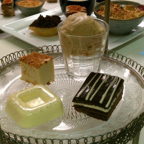 #Puddings and #puddings  (at The Dining Room)