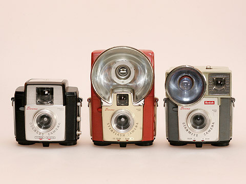 Kodak Brownie's: Starlet, Starflash & Starmite by siimvahur on Flickr.