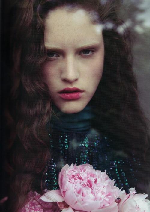"""Princess charming"". Marianne Brival by Carlotta Manaigo for Lula F/W 12.13"