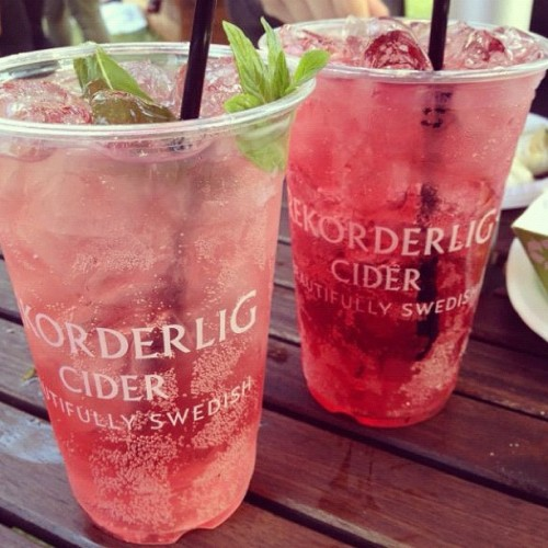 wo-l-f:  rekorderlig is the best cider ever, the swedes seem to get everything right.