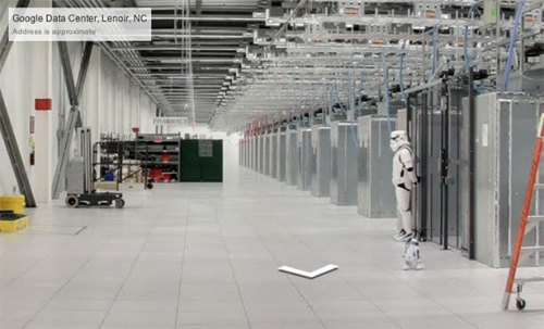 theatlantic:  Google Has a Stormtrooper Guarding Its Data Center