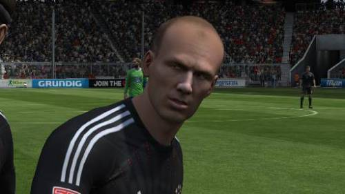 Arjen Robben always has the best facial expressions