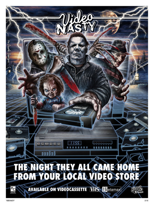 cinematicwasteland:  Video Nasty