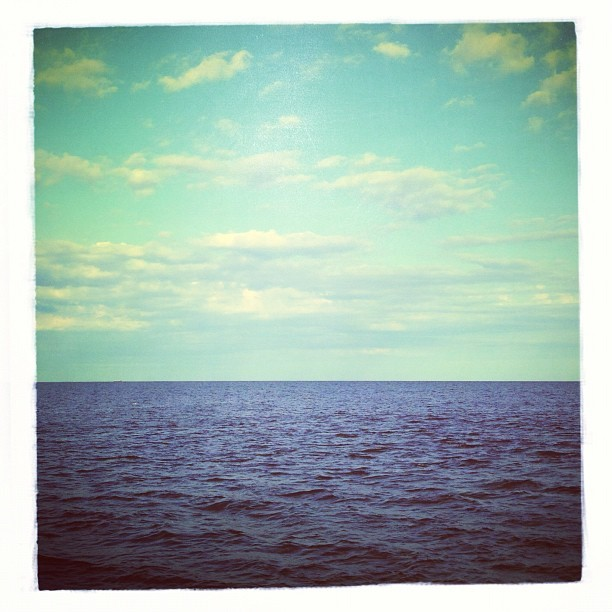 The Ocean // Edited with the Wood Camera app — available in the App Store.