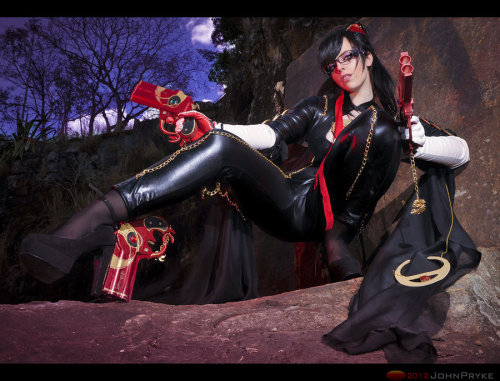 cosplaygirl:  Let's Rock Baby! Bayonetta by *MoonFoxUltima on deviantART