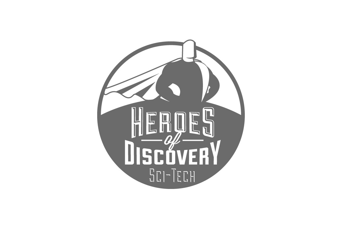 Heroes of Discovery Logo Design.