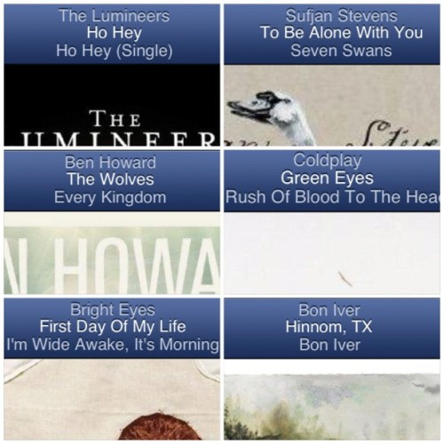 Loving pandora the last couple days. 💛🎧 #instacollage #pandora #goodmusic #love  #music #boniver #station