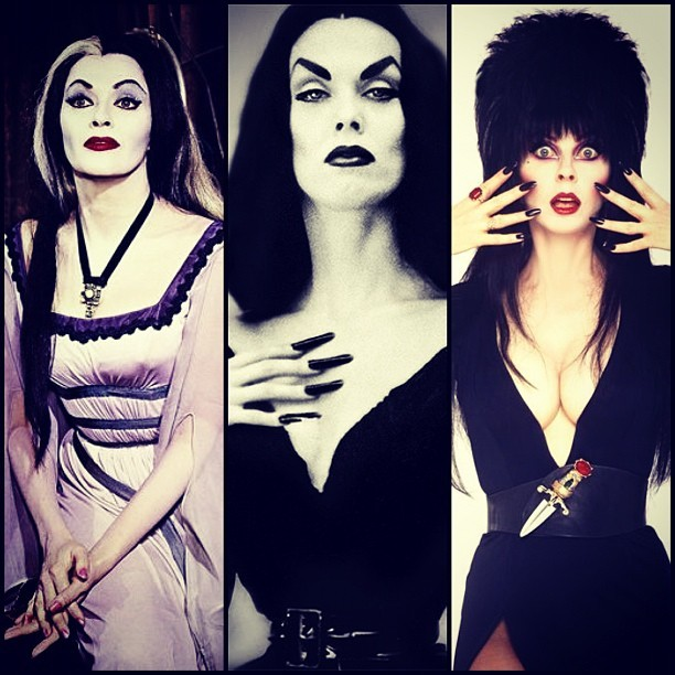 …But….where's Morticia?