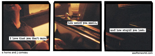 A Softer World: 882 (I love you, is what I'm saying.) buy this print