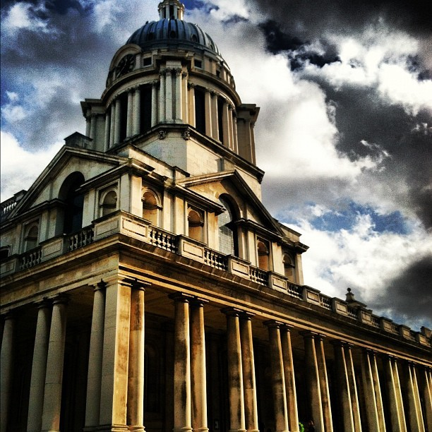 at Old Royal Naval College