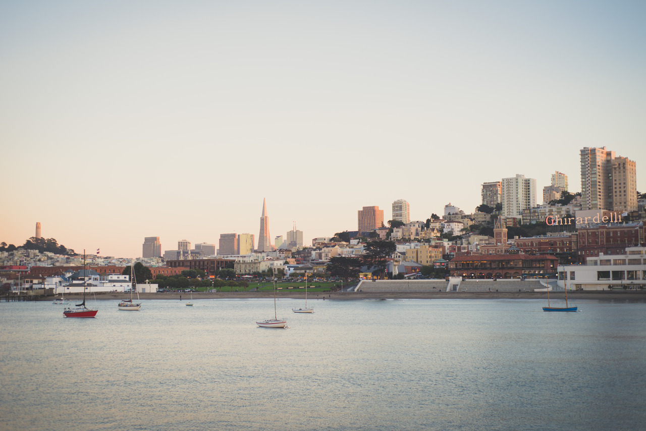 a fine city for living, san francisco, california