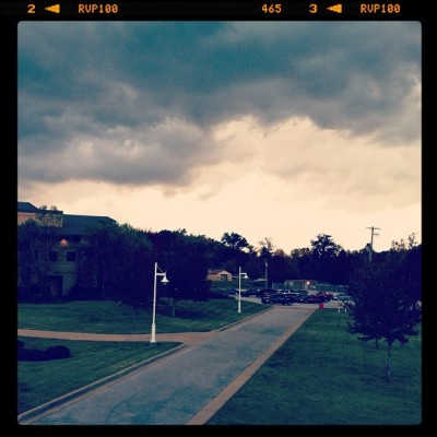 The Storm Approaches (at North Arkansas College (South Campus))