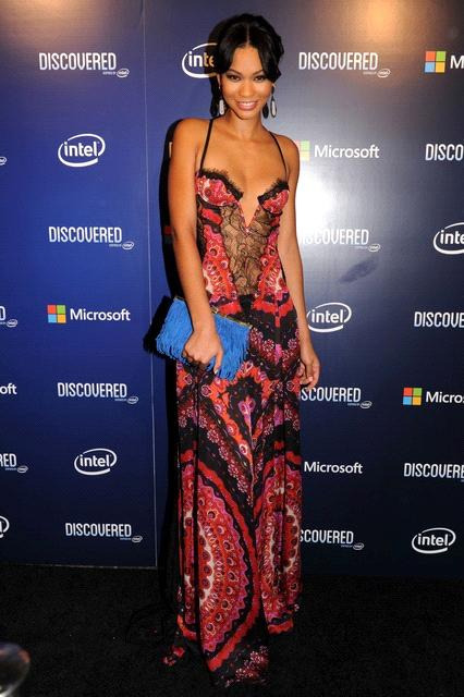 "janayarenee:  Chanel Iman at launch of ""Discover Inspired by Intel"" at Lure in Hollywood."